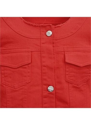 Panço Kız Çocuk Ceket 2011GK22004 Kırmızı